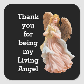 Thank You Living Angel sticker
