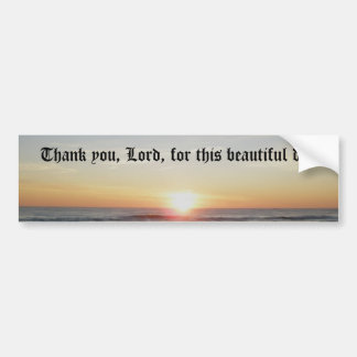 Thank you Lord Bumper Sticker