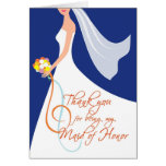 Thank you Maid of Honour - Navy Blue 3