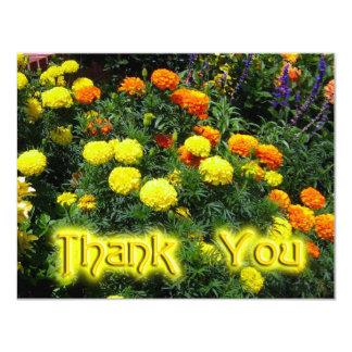 "Thank You Marigolds 4.25"" X 5.5"" Invitation Card"
