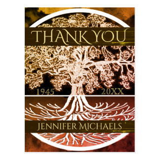 Thank You | Memorial | Tree of Life Postcard