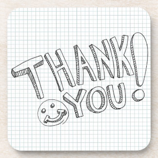 Thank You Messages Coasters