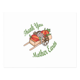 Thank You Mother Earth Postcard