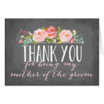 Thank You   Mother of the Groom Note Card