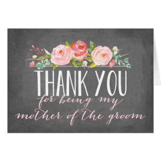 Thank You | Mother of the Groom Note Card