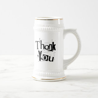 Thank You Beer Steins
