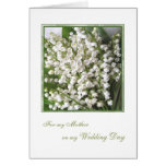 Thank you Mum, Wedding. White Lily of the valley.