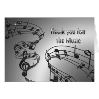 Thank You - Music - Notes - Musical
