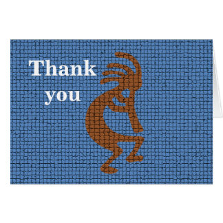 Thank You Music Teacher Kokopelli Flute Card