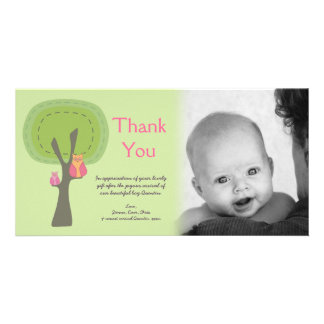 Thank You New Baby Arrival Gift Photocard Customized Photo Card