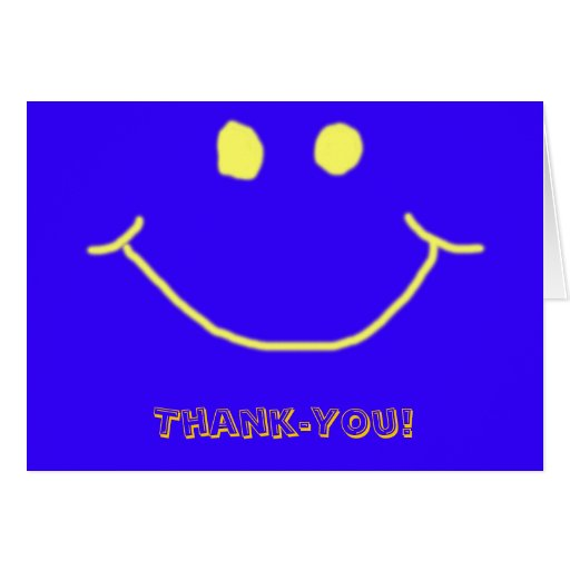 Thank-you Note card