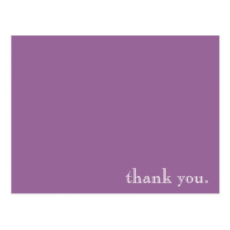thank you note card postcard