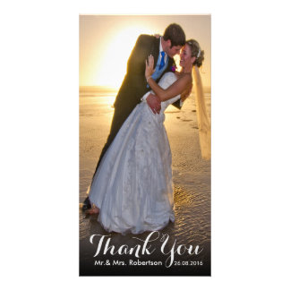 Thank You Note | Simple Wedding Photo Template