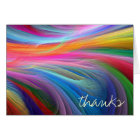 Thank you Notes in Colourful Design