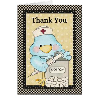Thank You Nurse Card