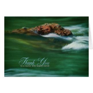 Thank You Nurse - Solid as a Rock Card