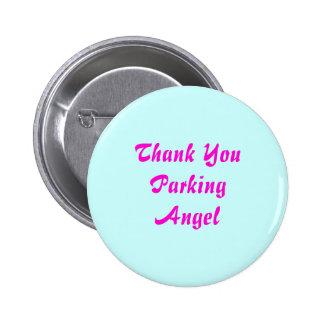Thank You Parking Angel 6 Cm Round Badge