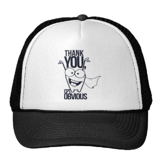 thank you pct obvious cool design cap