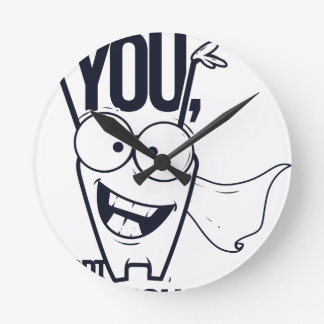 thank you pct obvious cool design round clock