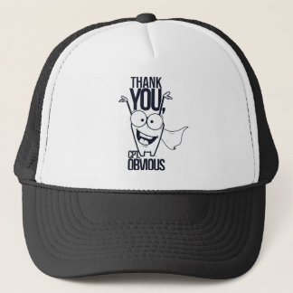 thank you pct obvious cool design trucker hat