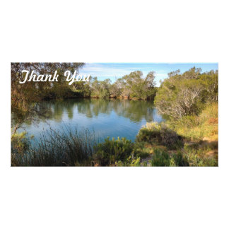 Thank You photo card - Central Australia