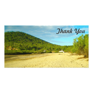 Thank You photo card - Stanage Bay