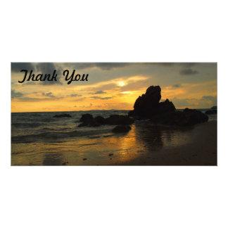 Thank You photo card - Yeppoon sunrise