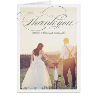 Thank You Photo Cards | Wedding