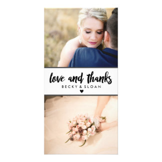 Thank You Photo Cards \ WEDDINGS
