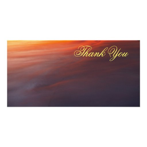 Thank You Picture Card