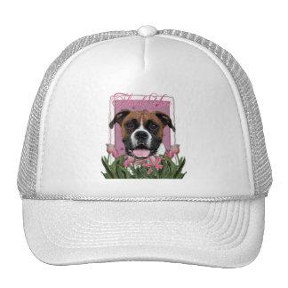 Thank You - Pink Tulips - Boxer - Vindy Mesh Hats