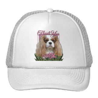 Thank You - Pink Tulips - Cavalier - Blenheim Mesh Hats