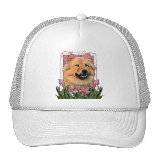 Thank You - Pink Tulips - Chow Chow - Cinny Hat