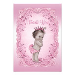 Thank You Pink Vintage Princess Baby Shower Invites