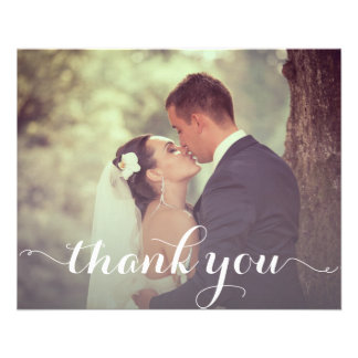 Thank You Postcard Template 11.5 Cm X 14 Cm Flyer
