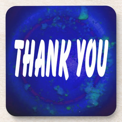 THANK YOU PRODUCTS COASTER