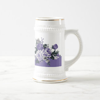 Thank you. Romantic Violet Flowers Beer Steins
