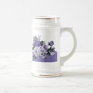 Thank you. Romantic Violet Flowers Coffee Mug