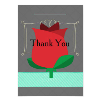 Thank You Rose Card