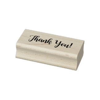 """""""Thank You"""" Rubber Stamp"""