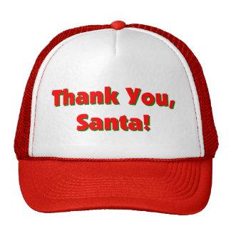 """""""Thank You Santa"""" Hats"""