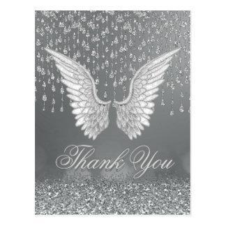 Thank You | Silver Tears Postcard