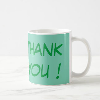 Thank You - Simple Yet Meaningful Coffee Mug