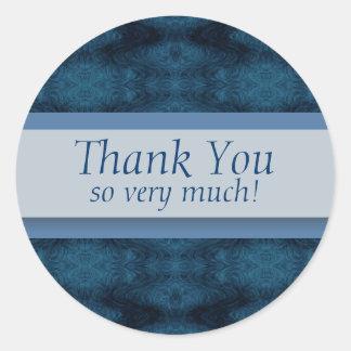 Thank You So Very Much! Round Sticker
