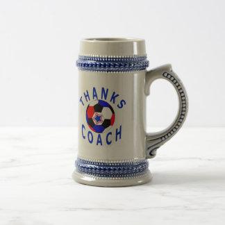 Thank You Soccer Coach  Gift Drink Stein Beer Steins
