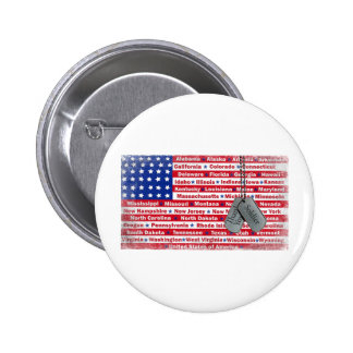 Thank You Soldier Dog Tags 6 Cm Round Badge