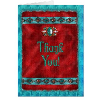 Thank You - Southwestern - Navajo Card
