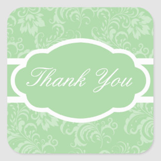 Thank You Sticker (Sophisticated Green)