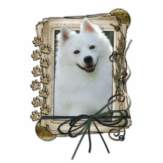 Thank You - Stone Paws - American Eskimo Cut Outs