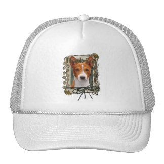 Thank You - Stone Paws - Basenji Mesh Hats